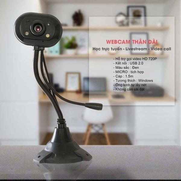 Bảng giá Webcam HD kèm mic có cho máy tính dùng học online Phong Vũ