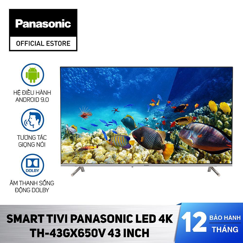 Bảng giá Smart Tivi Panasonic TH-43GX650V - Android 9.0 - LED 4K - 43 inch - Hàng chính hãng
