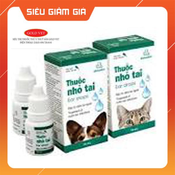 [Giá rẻ]  KS nhỏ tai Vemedim đặc trị viêm tai ngoài cho chó 10 ml