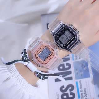 HOT Đồng hồ điện tử thể thao sinh viên chống thấm nước cho nam và nữ đồng hồ báo thức dạ quang đồng hồ dẫn ngày thumbnail