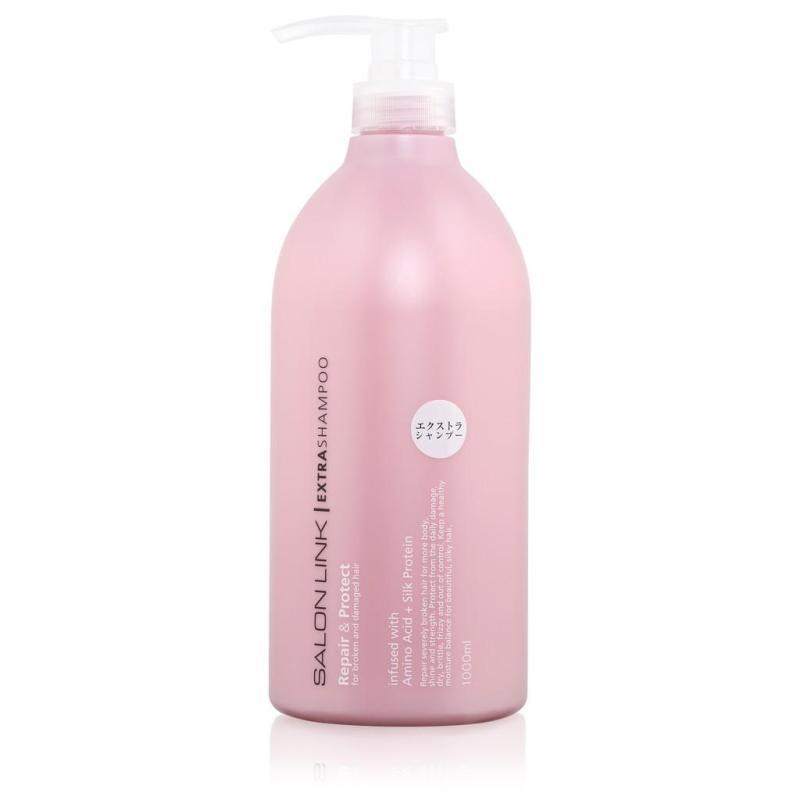 DẦU GỘI PHỤC HỒI TÓC HƯ TỔN SALON LINK EXTRA NỘI ĐỊA NHẬT ( CHAI MÀU HỒNG - 1000ML ),dầu gội được đặc chế cho tóc khô, chẻ ngọn, hư tổn do uốn, nhuộm và dùng hóa chất nhiều. giá rẻ