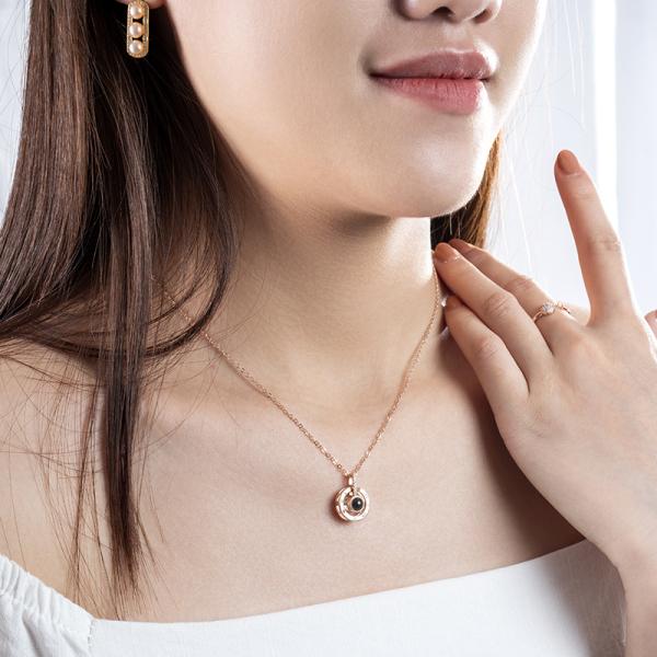 Dây chuyền bạc nữ, vòng cổ bạc nữ đẹp Necklace D0420005 - Trang Sức Mon Lilas