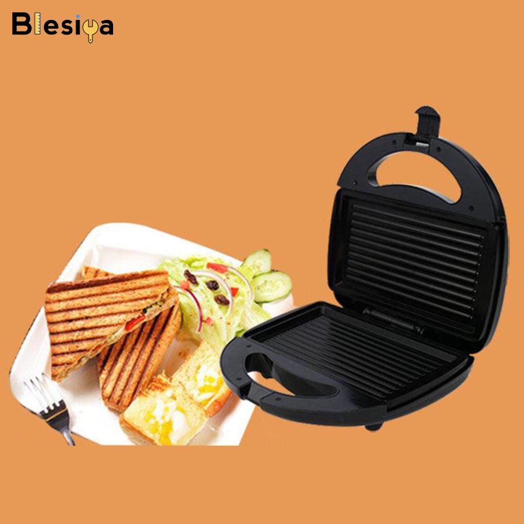 Lò Nướng Điện Blesiya Cho Bít Tết Bánh Hamburger Lò Nướng Bánh Mì Máy Làm Bữa Sáng
