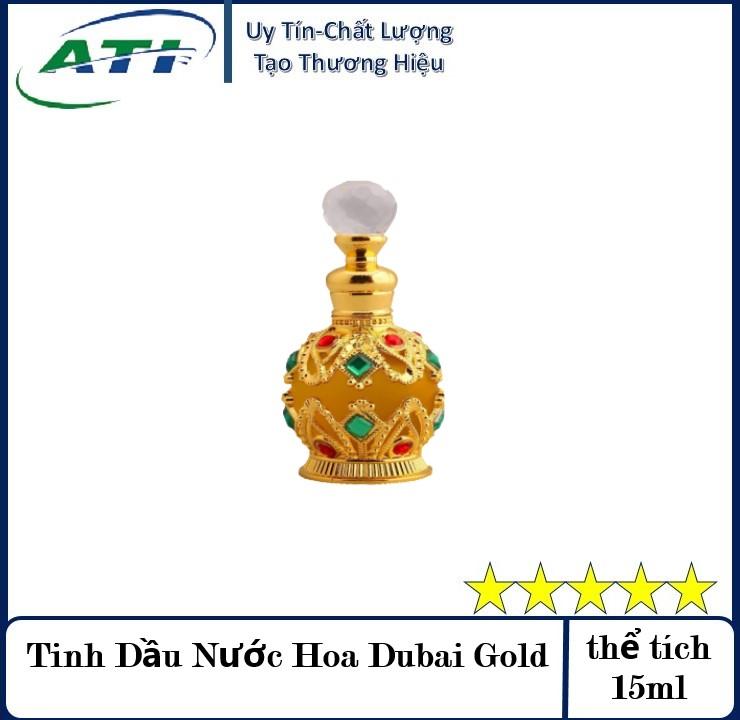 (Tặng ngay chai 2ml dùng thử) ComBo 2 Chai Nước Hoa DuBai  Nam Nữ 15ml + chai 5ml