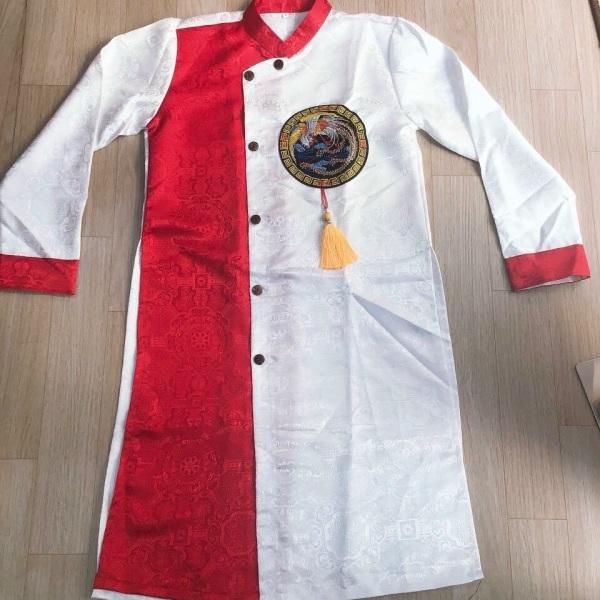 🦋🦋FREE SHIP🦋🦋 áo dài cách tân nam chất vải gấm dầy dặn. Mặc tết, đám cưới đám hỏi rất đẹp ạ cần gấp ib shop để được tư vấn size