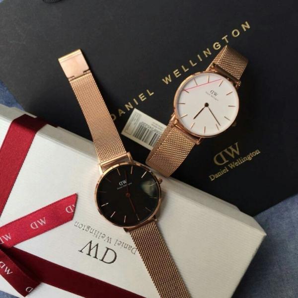 Đồng hồ nữ DW dây kim loại sang trọng + Tặng kèm pin + Bảo hành 12 tháng bán chạy