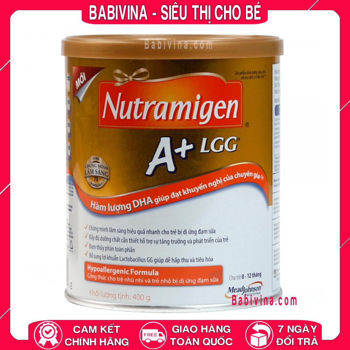 [LẺ GIÁ SỈ] Sữa Enfa Nutramigen A+LGG 400g