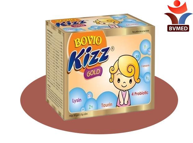 BOVIOKIZZ GOLD - trẻ ăn ngon, cân bằng hệ vi sinh