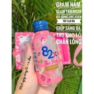 10 lọ Nước Uống Bảo Vệ Sức Khỏe 82x The Pink Collagen Nhật Bản thumbnail