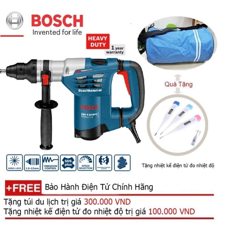 Máy Khoan Búa 900W Bosch GBH 4-32 DFR + Quà tặng balo du lịch