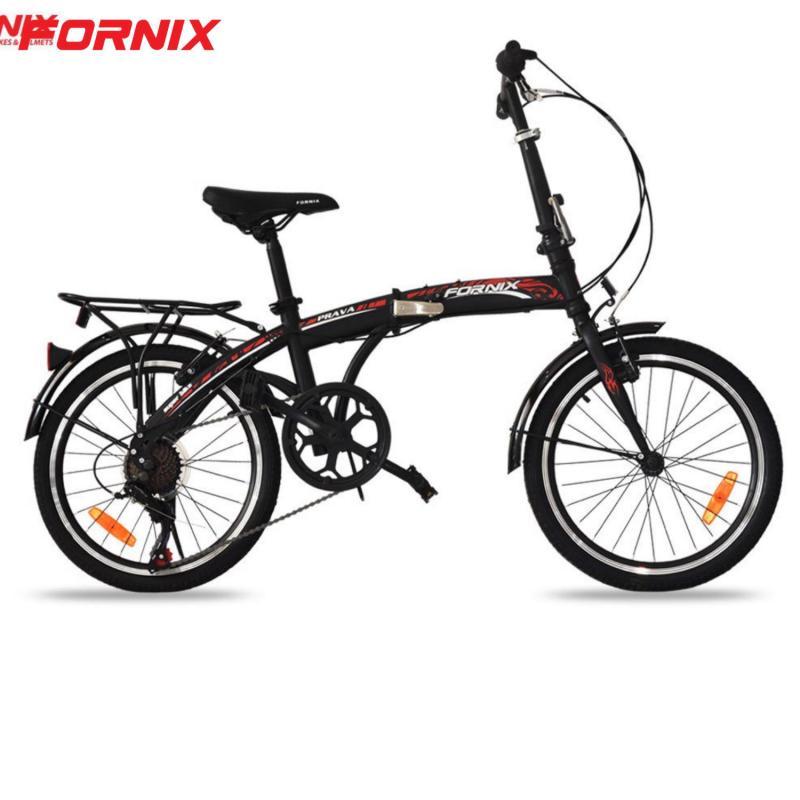 Phân phối Xe đạp gấp Prava màu ĐEN