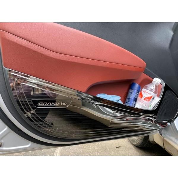 Ốp tapli cánh cửa xe GRAND I10 tặng kèm keo tăng bám
