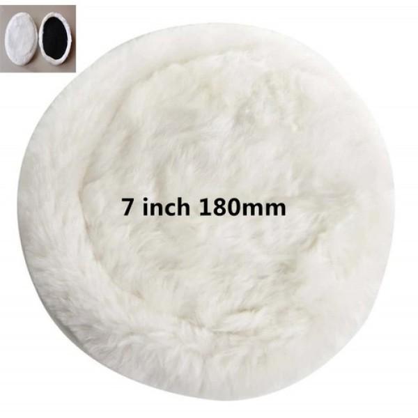 Bánh Lông Cừu Dùng Đánh Bóng Bước 1 (7inch) Đánh bóng epoxy