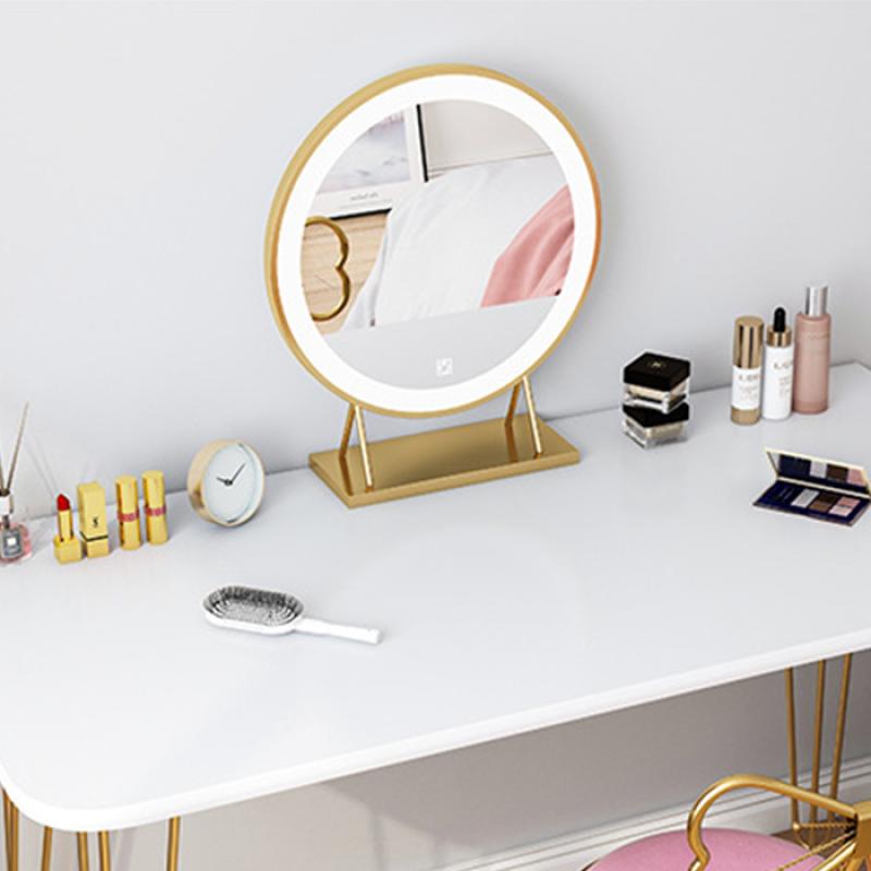 Gương để bàn trang điểm style Hàn Quôc  40cm