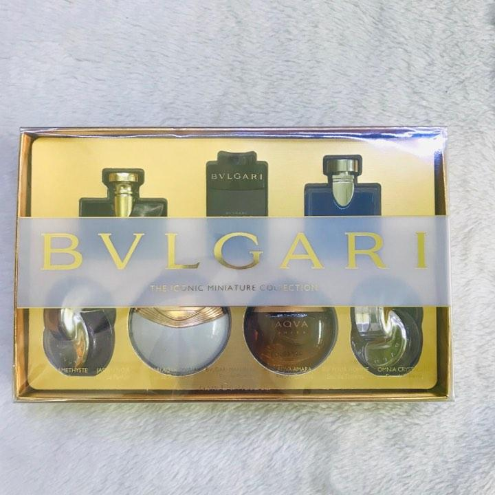Set Nước hoa Bvlgari Mini (7*5ml)