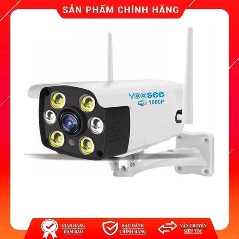 Camera ngoài trời chống nước kết nối wifi Yoosee Full HD 1080P 4 Led trợ sáng đàm thoại 2 chiều