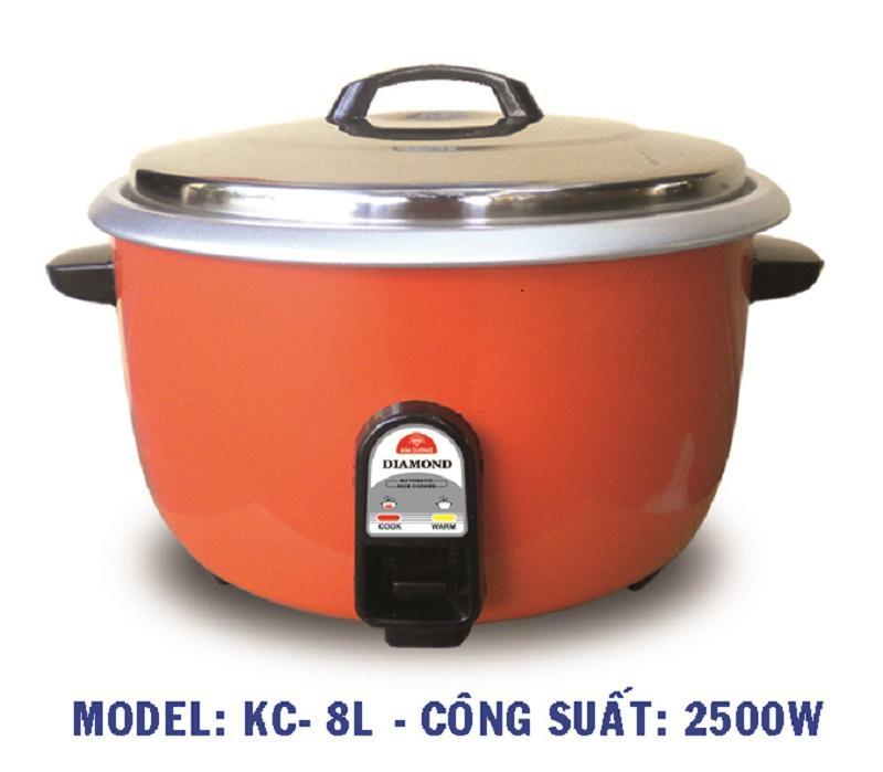 Nồi cơm điện Kim Cương KC-8 lít ( 5kg gạo) BH 12 tháng