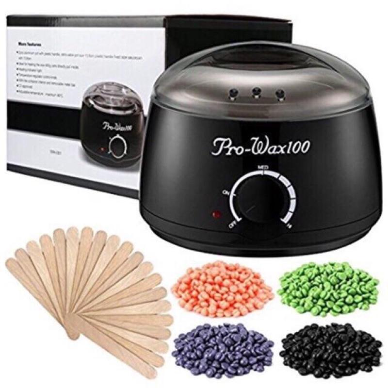 (Tặng que wax) sáp wax nóng tẩy lông hard beans tặng que wax 100g