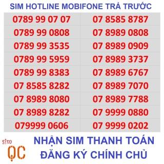 [HCM][Trả góp 0%]Sim vip mobifone hotline trả trước-L10-QC thumbnail