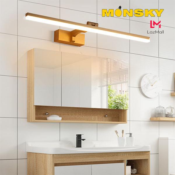 Bảng giá Đèn soi tranh - Đèn rọi gương MONSKY WASME hiện đại, tiện dụng trang tri nội thất cao cấp.