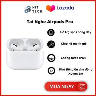 [Bảo Hành 2 Năm] Tai Nghe Bluetooth AirPods Pro - Tai nghe Iphone True Wireless AirPods Nhét Tai - Thiết Kế Thời Trang - Sử Dụng Cảm Ứng Đa Điểm Điều Khiển - Định Vị Map - Đổi Tên - Sử Dụng Lên Tới 24h - Dùng Cho Iphone, SamSung,,,, thumbnail