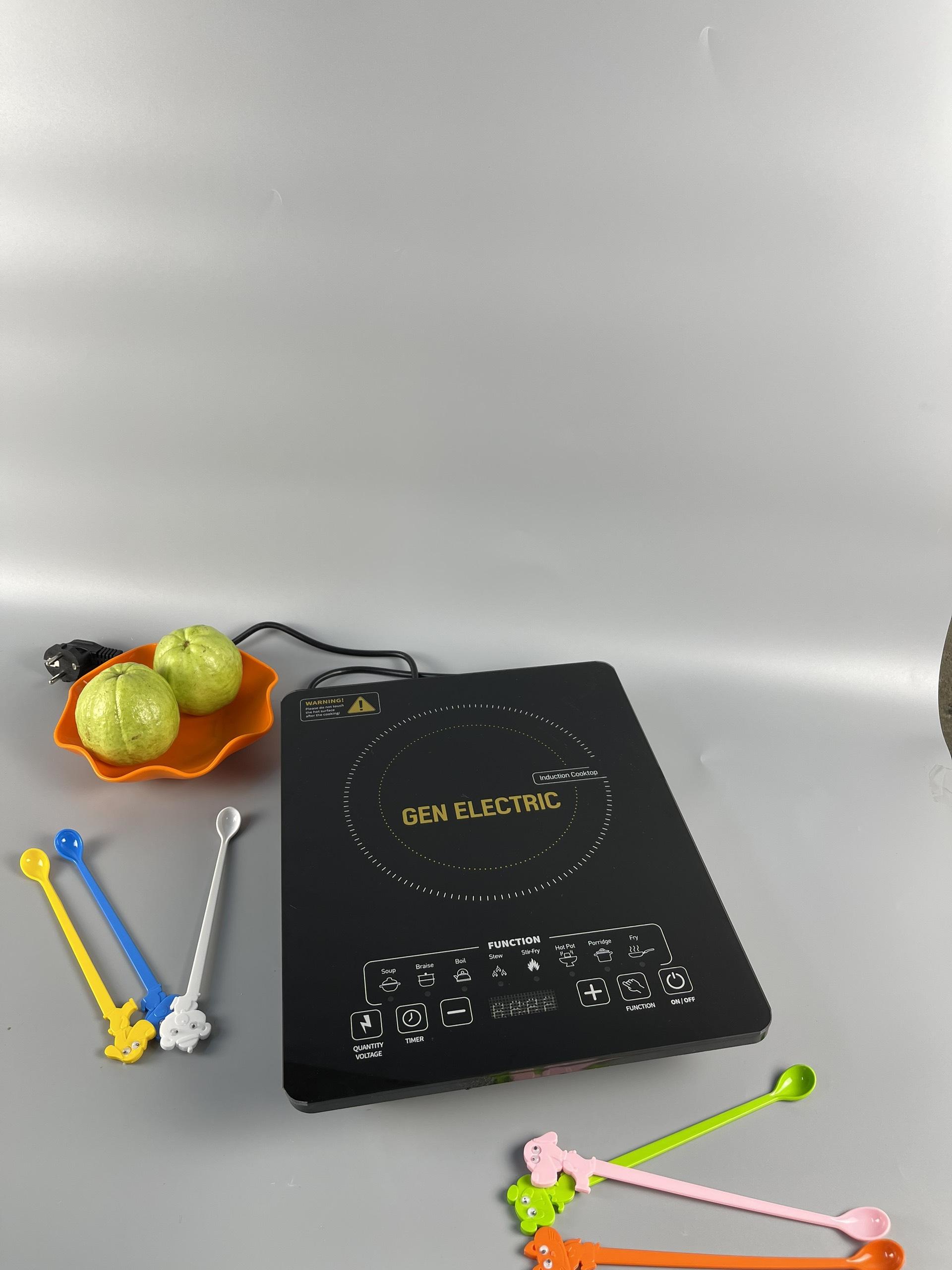 Bếp từ, bếp từ đơn thương hiệu Gen electric GE-A03 - Công suất 2200w. Bảo hành chính hãng 12 tháng, lỗi đổi mới trong 30 ngày.