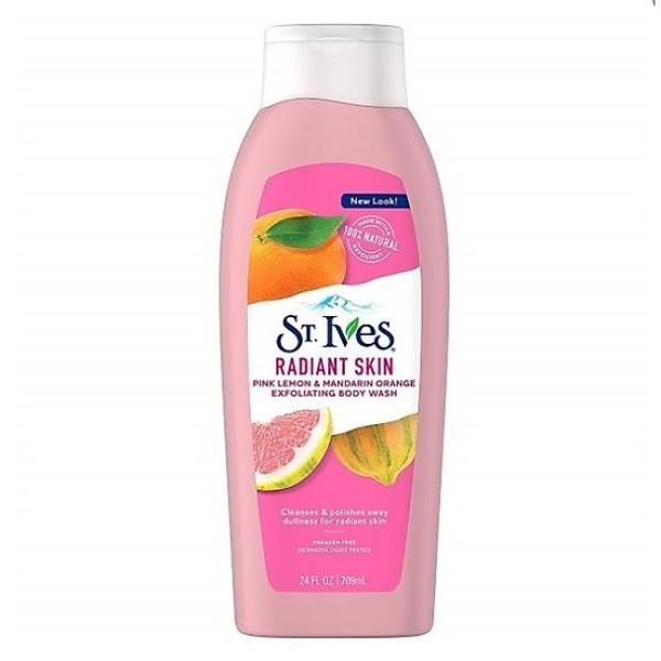 Sữa tắm ST.IVES Radiant Skin cam chanh 709ml giá rẻ