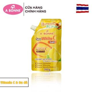 Muối Tắm Sữa Spa A Bonne 350g (Có Vòi) - Muối Vitamin C & Đu Đủ thumbnail