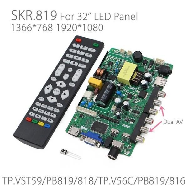 Bảng giá SKR.819 bo TV đa năng thay thế cho một số đời Asanzo