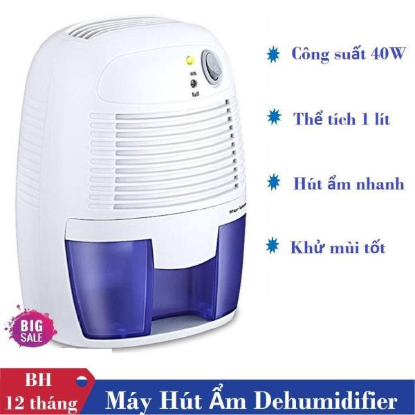 Máy Hút Ẩm Mini, Máy Hút Ẩm Mini Dehumidifier Kiểu Dáng Đẹp, Nhỏ Gọn, Dễ Sử Dụng, Hút Ẩm Hiệu Quả Cao