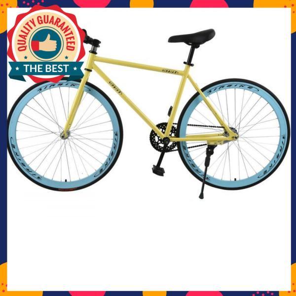 Phân phối Xe đạp Fixed Gear Air Bike MK78 (vàng màu)