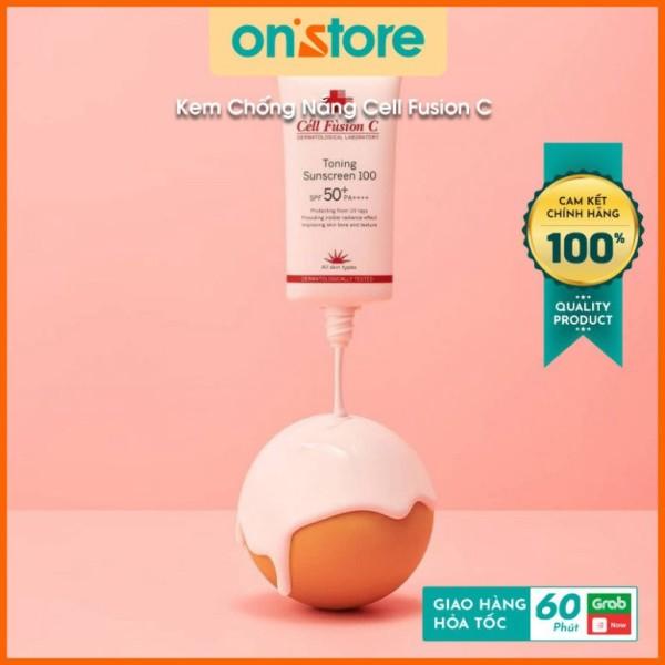 Kem Chống Nắng Kiểm Soát Dầu Và Nhờn Cell Fusion C Clear Sunscreen 100 SPF 48/PA+++ Hàn Quốc, Lâu Trôi Làm Sáng - 50ml