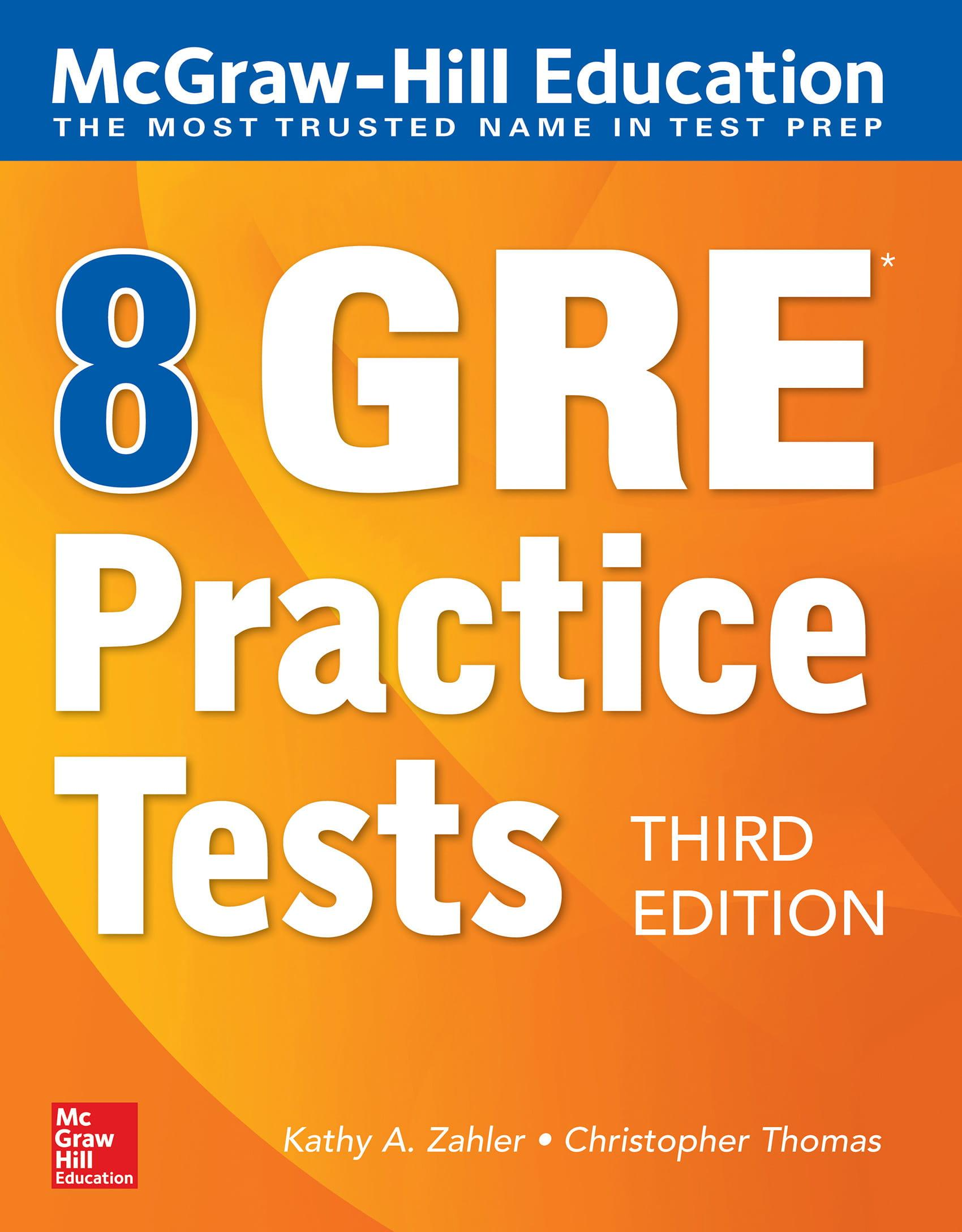 Mua McGraw-Hill Education 8 GRE Practice Tests, Third Edition 3rd Edition