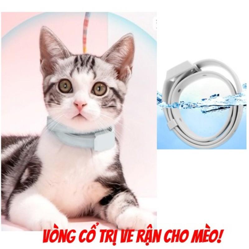 [Thu thập mã giảm thêm 30%] (Cho Mèo)Vòng Cổ Trị Ve Rận Cho Mèo