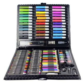 Hộp bút màu 150 chi tiết - hop but mau 150 chi tiet thumbnail