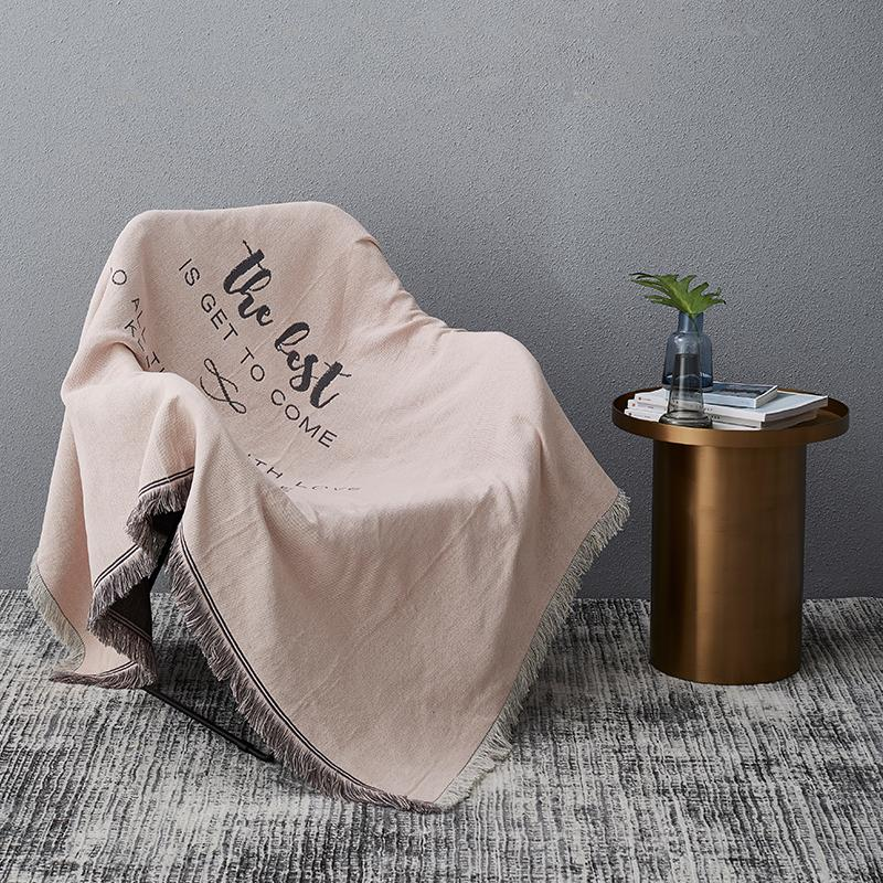 Northern Europe Sofa Cover Cloth Sofa Slipcover Full Cover Lazy Sofa Cover INS Wind Online Celebrity Single Person Sofa Cover European Style gai jin