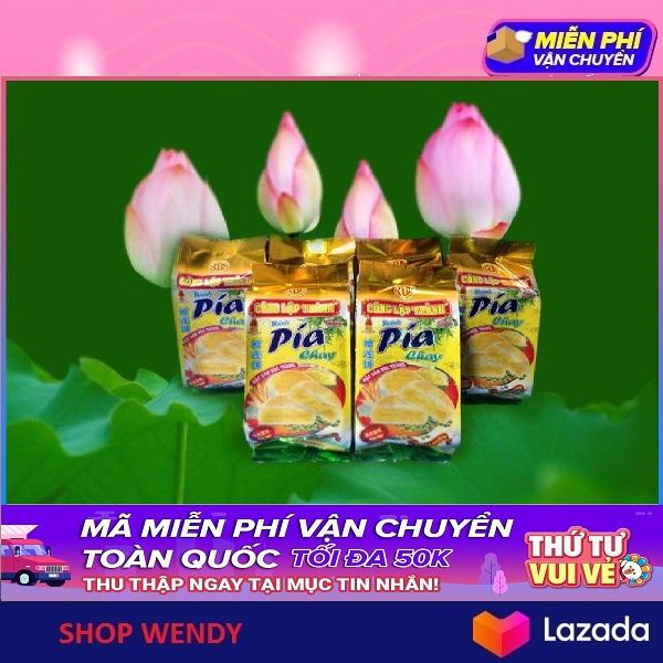 Bánh Pía Đậu Xanh Sầu Riêng - Chay - 400g (4 cái)