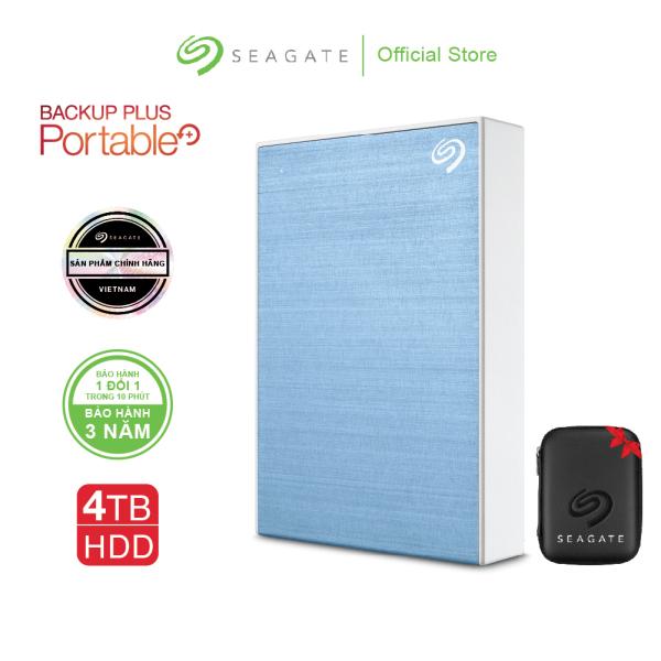 Bảng giá [Trả góp 0%]Ổ cứng di động Seagate Backup Plus Portable 4TB USB 3.0 Phong Vũ
