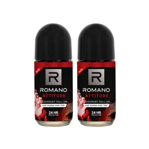 Combo 2 lăn khử mùi Romano Atitude 50ml (50ml x2) giá rẻ