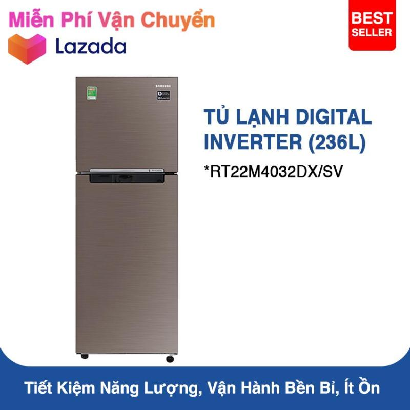 Tủ Lạnh Samsung Inverter RT22M4032DX/SV 236L (Nâu)