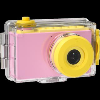 Máy ảnh CLEVER HIPPO TOY - Máy chụp hình chống nước - Hồng dịu dàng - MÃ SP YT007 PK thumbnail