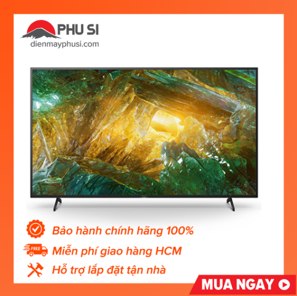 Bảng giá [Trả góp 0%]Android Tivi Sony 4K 43 inch KD-43X8050H - hàng phân phối chính hãng - bảo hành 2 năm - Tivi X8050H 4K Ultra HD. dải tần nhạy sáng cao (HDR). Smart TV (TV Android).