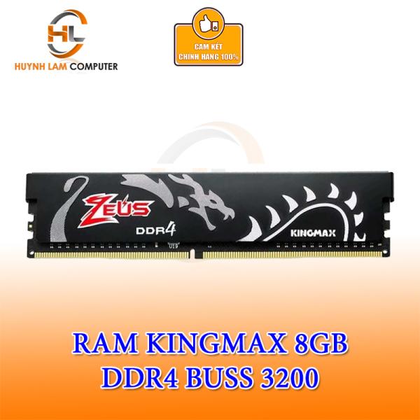 Bảng giá Ram 8GB Kingmax Zeus DDR4 3200MHZ Tản Đen Viễn Sơn Phân phối Phong Vũ
