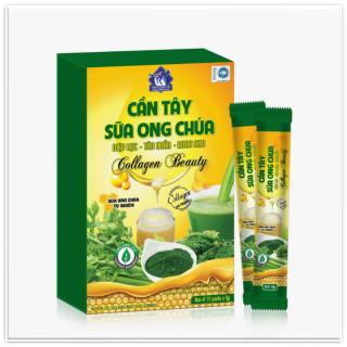 Cần Tây Sữa Ong Chúa, Diệp Lục , Tảo Xoắn, Rong Nho Collagen Beauty Giúp Giảm Cân, Hết Mụn,Đẹp Dáng, Sáng Da, Thanh Lọc Cơ Thể thumbnail