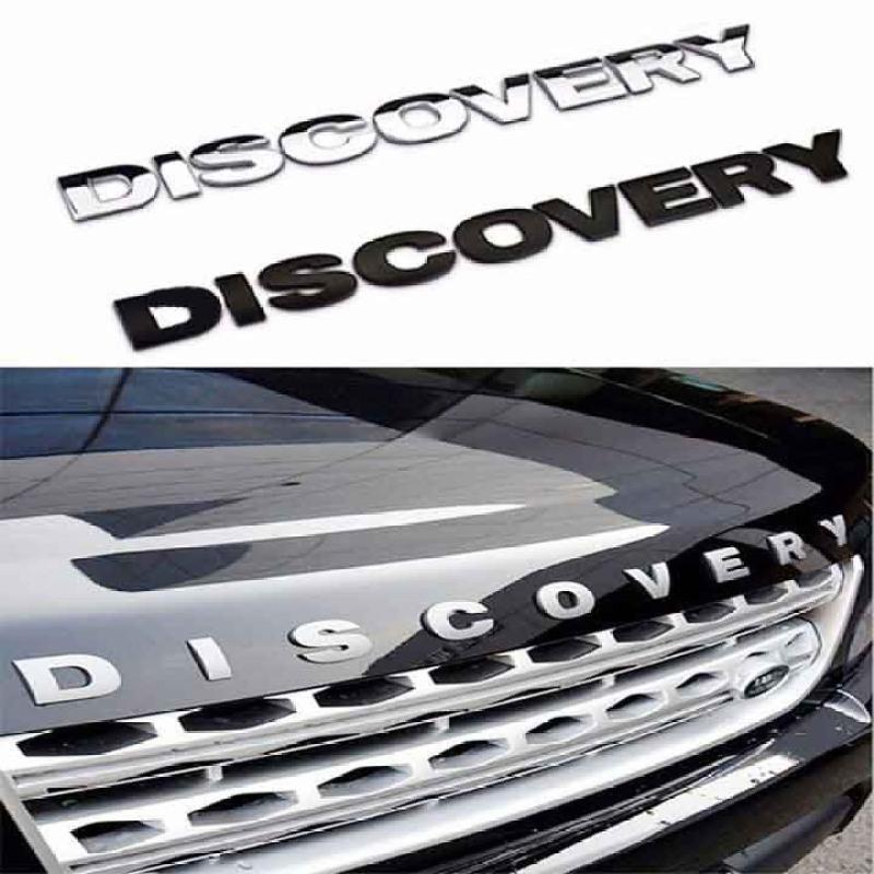 CHỮ DISCOVERY - CHỮ NỔI 3D TRANG TRÍ CAPO XE HƠI