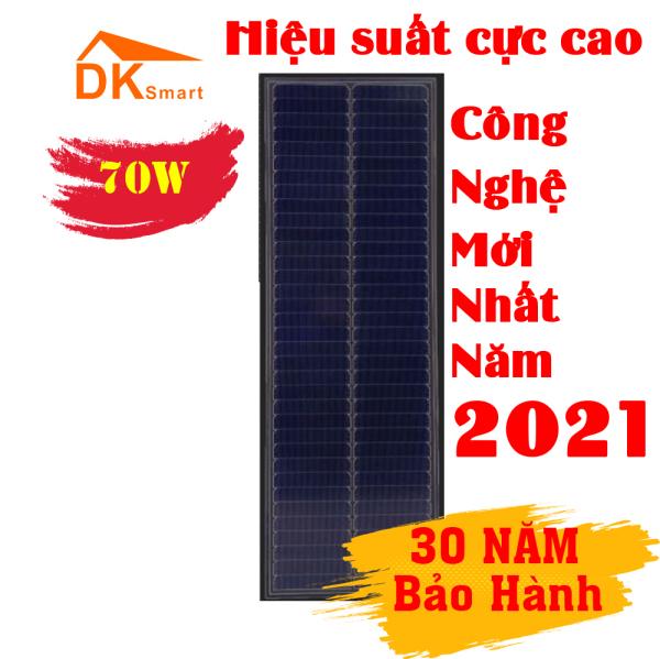 [CÔNG NGHỆ MỚI NHẤT NĂM 2021] Tấm pin năng lượng mặt trời Mono 70W HIỆU SUẤT CỰC CAO (dù trời râm mát nhưng vẫn cho hiệu suất cao hơn loại thường 20%)  - BẢO HÀNH 30 NĂM