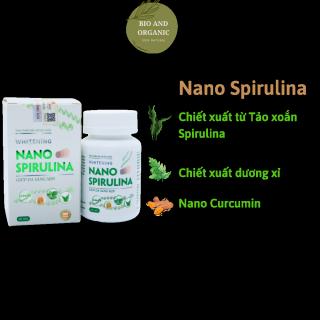 Viên uống trắng sáng da tự nhiên Whitening Nano Spirulina thumbnail