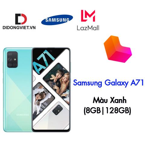 """Điện thoại Samsung Galaxy A71 (8GB/128GB) - Hàng chính hãng - Màn hình 6.7"""" Infinity-O Full HD+, bộ 4 Camera sau, Pin 4500mAh, Cảm biến vân tay tích hợp trên màn hình"""
