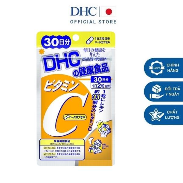 Viên uống DHC Nhật Bản bổ sung Vitamin C tăng cường sức đề kháng thực phẩm chức năng 30 ngày - DHC HAMI