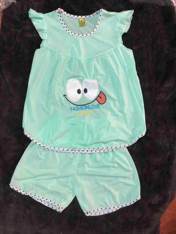 Nơi bán Combo 4 bộ thun lạnh bé gái size 30-40kg